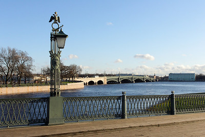 The bridge to the Peter and Paul's Fortress