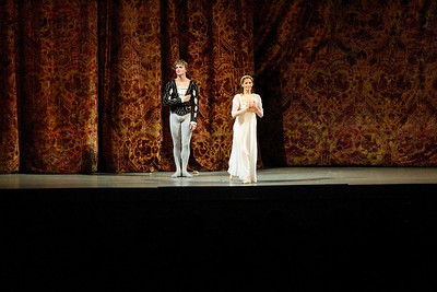 Romeo and Julia ballet performance in the Marinsky theater
