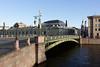 Bridge over the Fontanka river