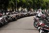 Ho Chi minh city - motorbike parking