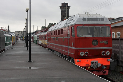 Train museum in St-Petersburg