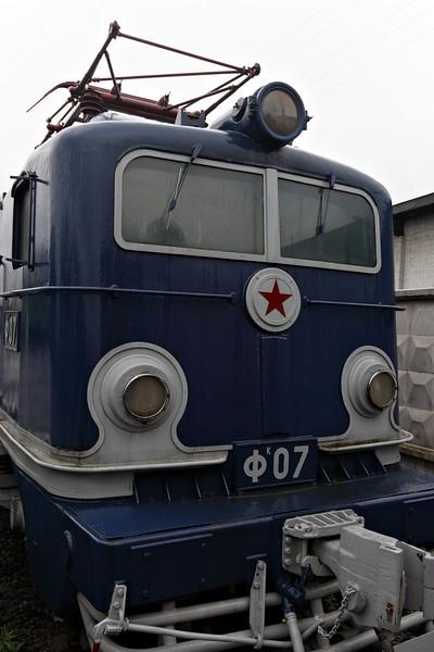 Train museum in St-Petersburg