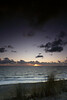 Sunset at the beach of Westenschouwen