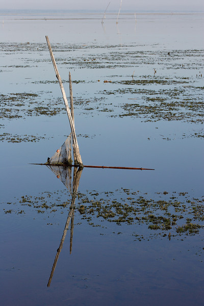 Morning at the shores of lago Trasimeno