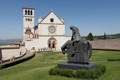 The big Cathedral Assisi