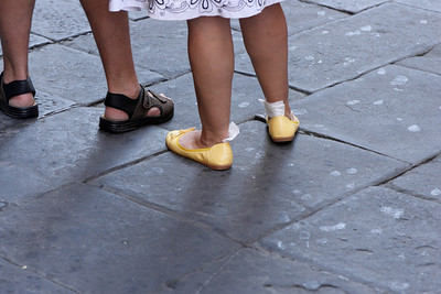 Siena - sore feet