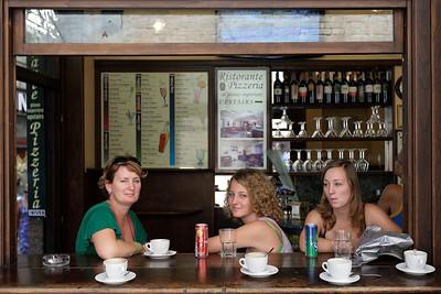 Morning coffee in Siena