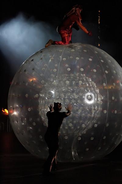 A performance by 'Un Poco Loco'