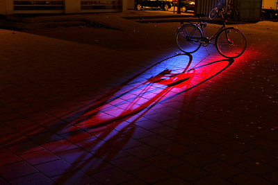 A Bicycle at GLOW