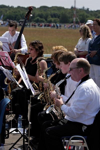 De saxofoon sectie