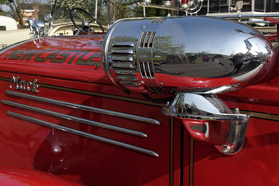 Detail of Classic firebrigade cars