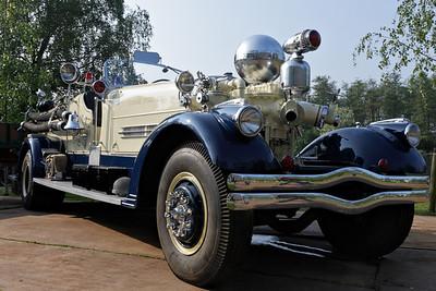 Classic firebrigade cars