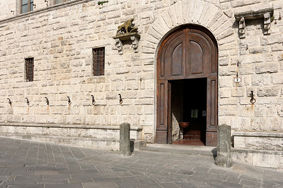 Town hall of Montepulciano