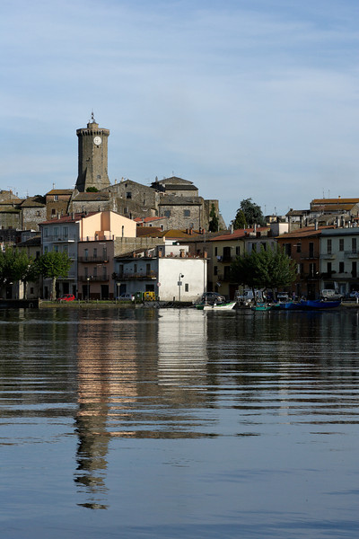Marta village at Lago Bolsena