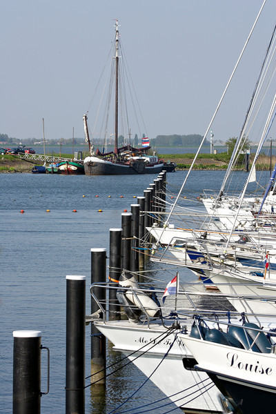 Yacht harbour near Zuid-Beijerland