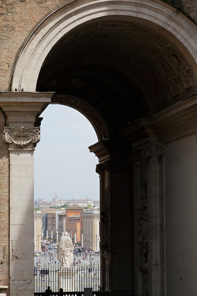 View from St. Peter's Cathedral