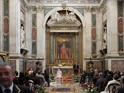 A mariage in San Giovanni Laterano