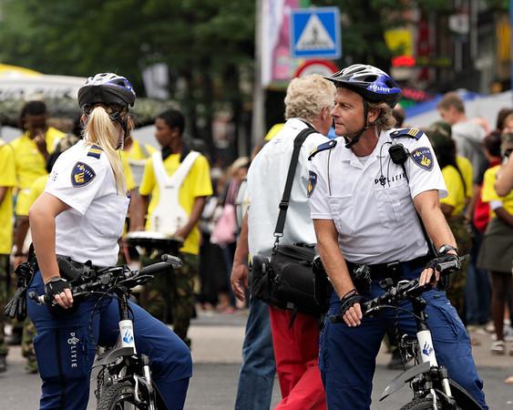 Police keeping an eye on things