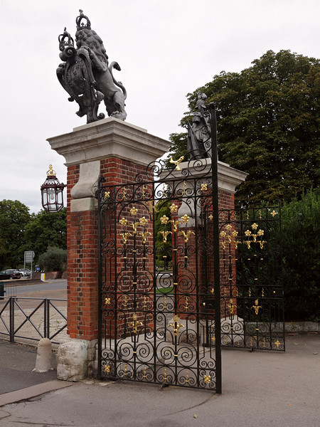 Entrance into Hampton Court