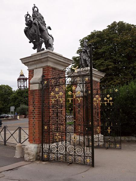 Entrance into Hampton Court