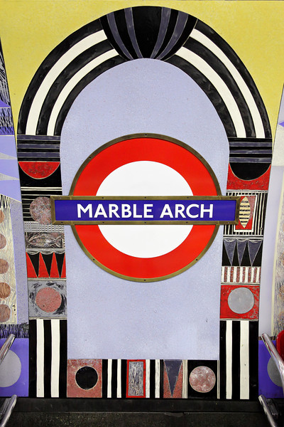 Marble Arch subway station
