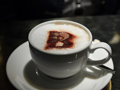 Cappucino at Brown's