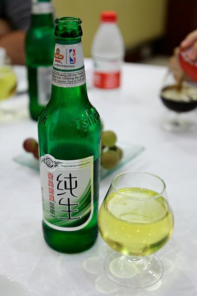 Het eerste diner in Nanjing