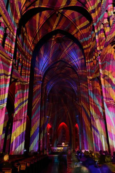 Glow Light Festival - Michel Suk  - Catharinakerk