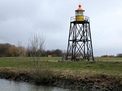 The lighthouse at Nieuwendijk