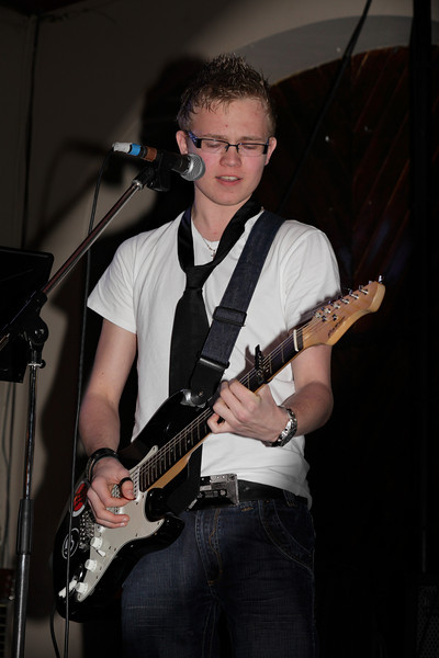 Edwin - lead guitar