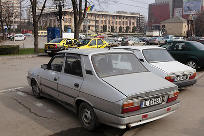 The former Renault 12 still going strong here as a Dacia