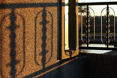 Radio Kootwijk - shades of the early sun