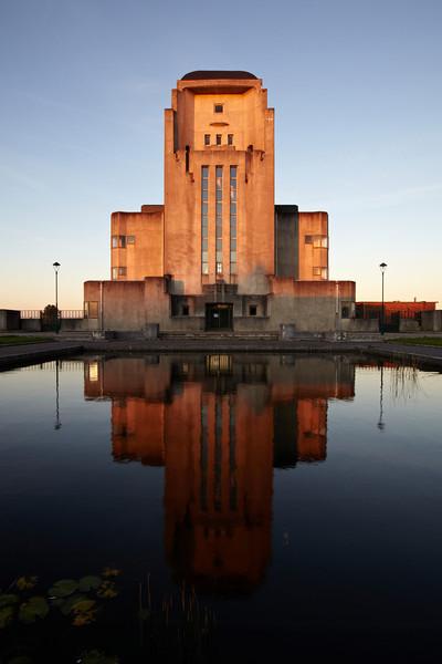 Radio Kootwijk - at sunrise