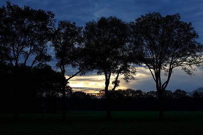 Sunrise near Otterlo