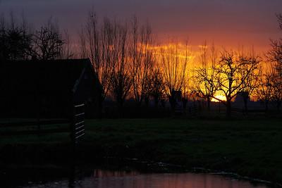 Sunrise at Reewijk