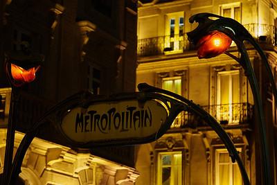 The Paris subway