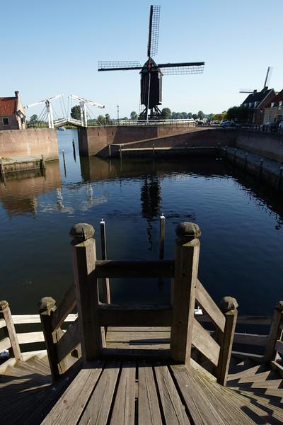 The harbour of Heusden