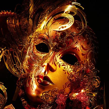 A mask in a shop window in San Marino