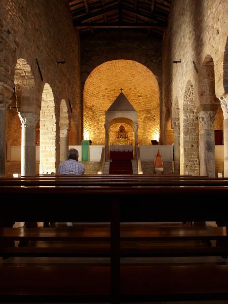 The church of San Leo village