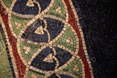 Details of the mosaic art in Ravenna
