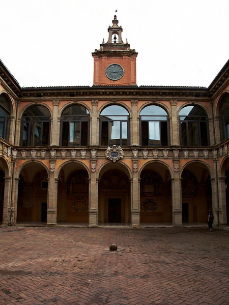 The university library of Bologna