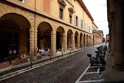 Bologna - the city of arches