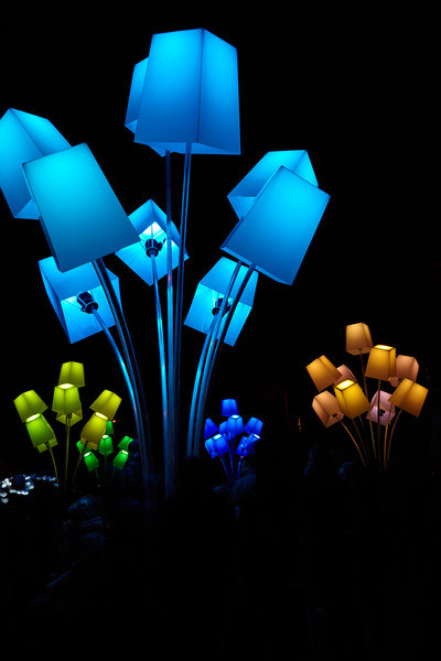 TILT: Bouquets d'abat-jours (Boeketten van lampenkappen)