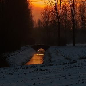 2013-01 Sunsets around Best