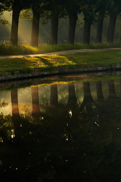 Early morning at the canal near Oirschot