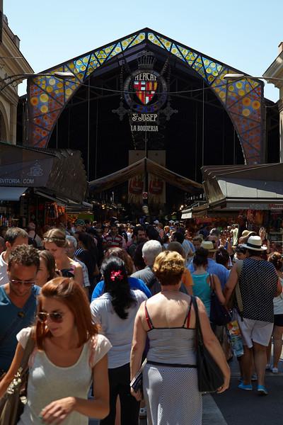 La Boqueria - the fresh market