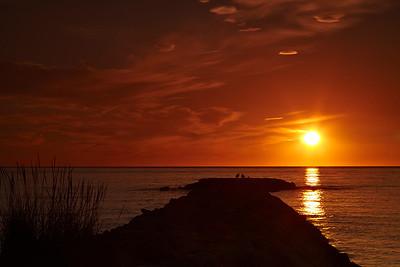 Sunrise at Ste Marti