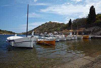 The harbour near Dali's house in Portlligat