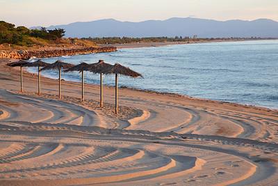 The beach of Ste Marti