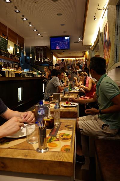 A tapas bar